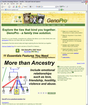 GenoPro Home Page