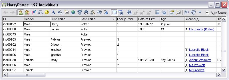 how to set out a data table