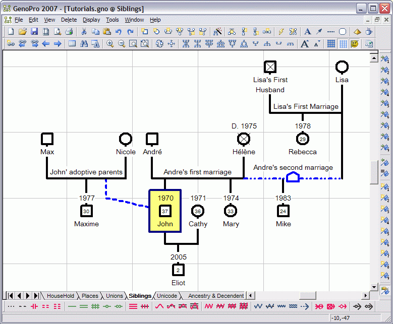 genopro 2 0 free download family tree and genogram software with